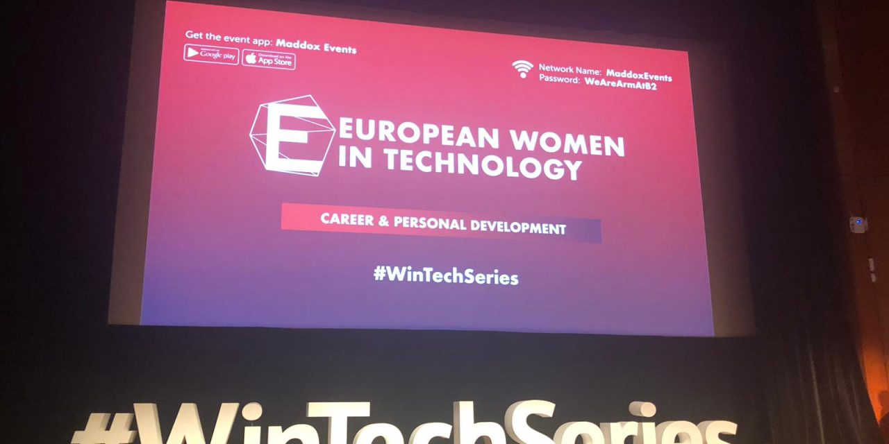 #1 day of women in tech. You don't have to be a man to do it!