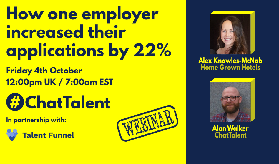 WEBINAR: How one employer increased their application rate by 22%